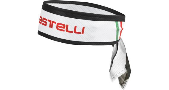 Castelli Headband Nakrycie głowy Mężczyźni biały